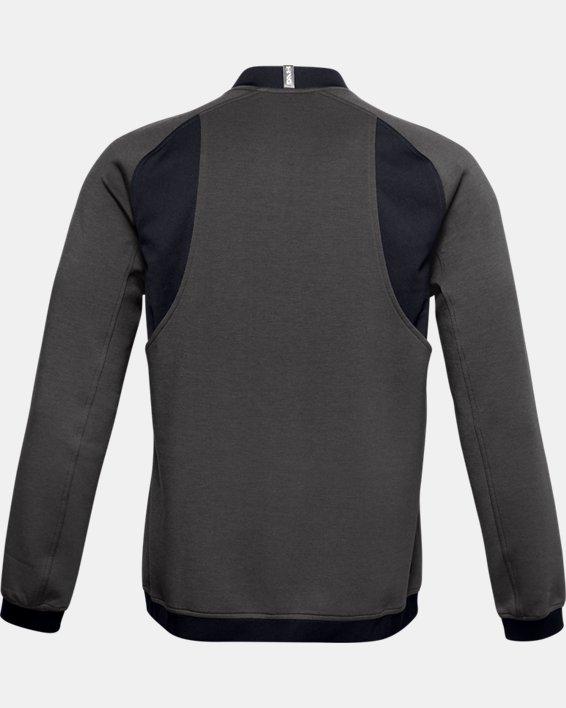 Men's UA Range Unlimited Storm Full Zip Bomber Jacket, Gray, pdpMainDesktop image number 5