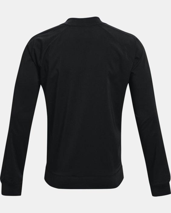 Men's Curry UNDRTD Warmup Jacket, Black, pdpMainDesktop image number 5
