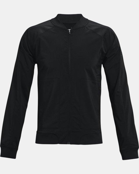 Men's Curry UNDRTD Warmup Jacket, Black, pdpMainDesktop image number 4