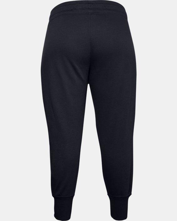 Women's UA Rival Fleece Joggers, Black, pdpMainDesktop image number 4