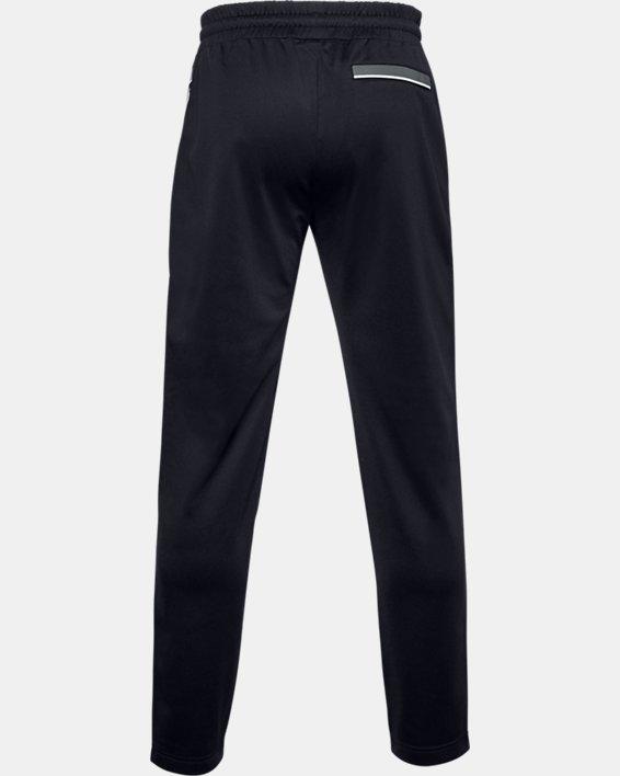 Men's UA RUSH™ Knit Track Pants, Black, pdpMainDesktop image number 6