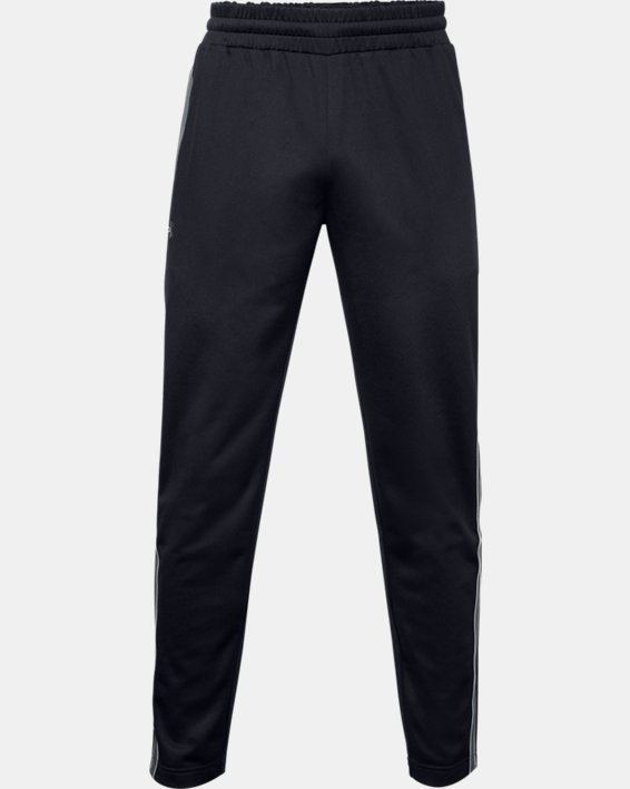 Men's UA RUSH™ Knit Track Pants, Black, pdpMainDesktop image number 5