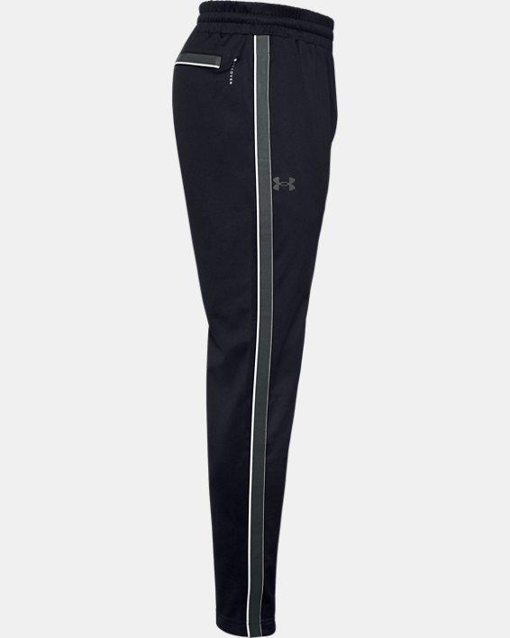 Men's UA RUSH™ Knit Track Pants, Black, pdpMainDesktop image number 7