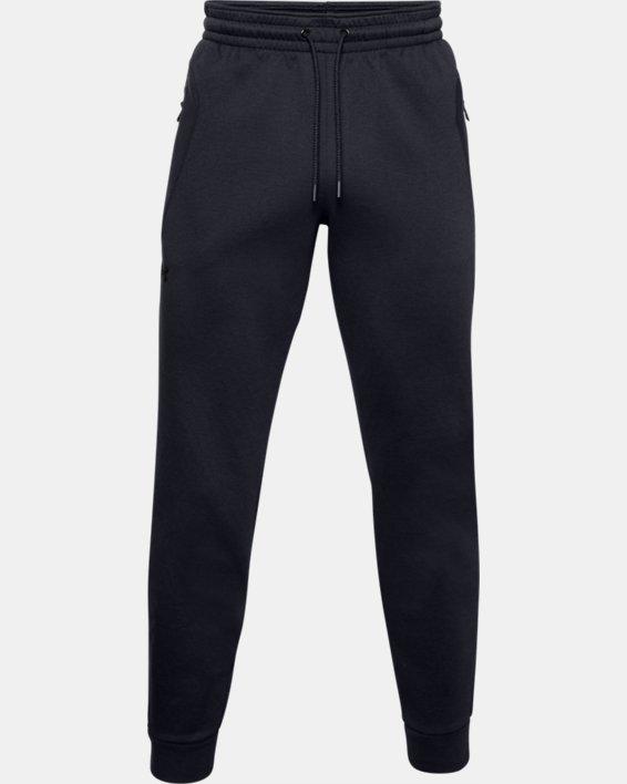 Men's UA RECOVER™ Fleece Pants, Black, pdpMainDesktop image number 5
