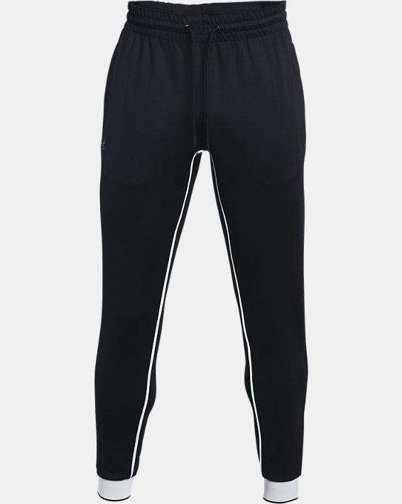 Men's UA RUSH™ Pants, Black, pdpMainDesktop image number 4