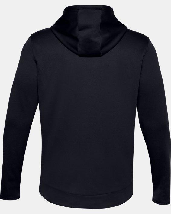 Men's Armour Fleece® Hoodie, Black, pdpMainDesktop image number 5