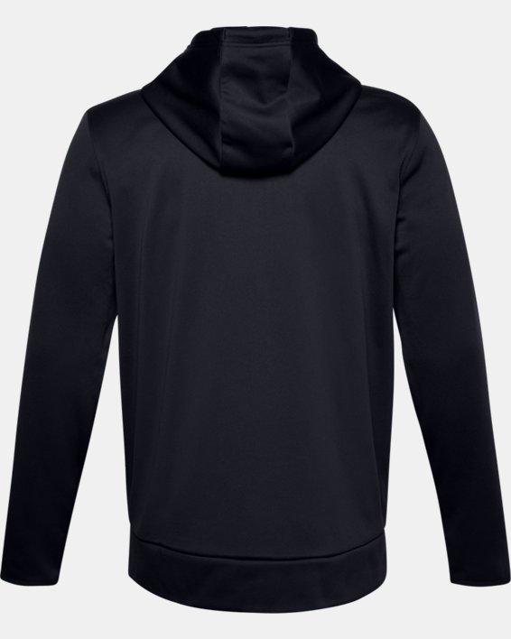 Men's Armour Fleece® Full Zip Hoodie, Black, pdpMainDesktop image number 5