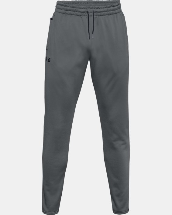Men's Armour Fleece® Pants, Gray, pdpMainDesktop image number 2