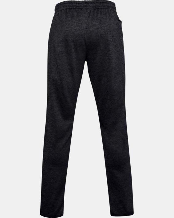 Men's Armour Fleece® Twist Pants, Black, pdpMainDesktop image number 5