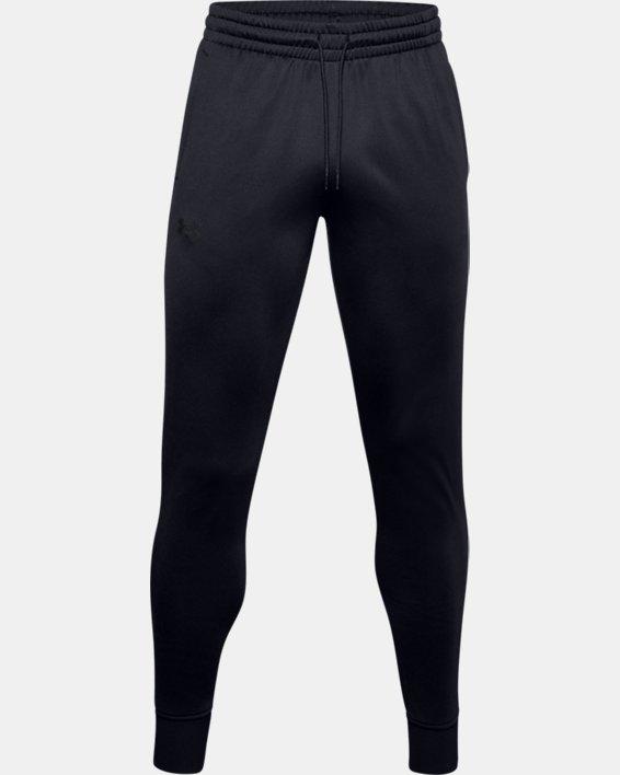 Men's Armour Fleece® Joggers, Black, pdpMainDesktop image number 4