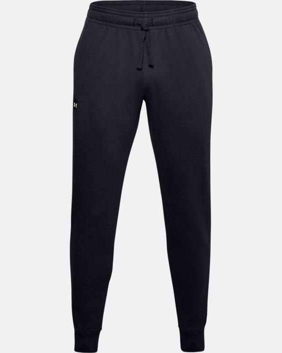 Pantalon de jogging UA Rival Fleece pour homme, Black, pdpMainDesktop image number 2