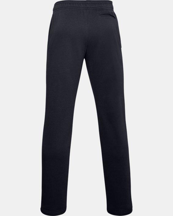 Men's UA Rival Fleece Pants, Black, pdpMainDesktop image number 5