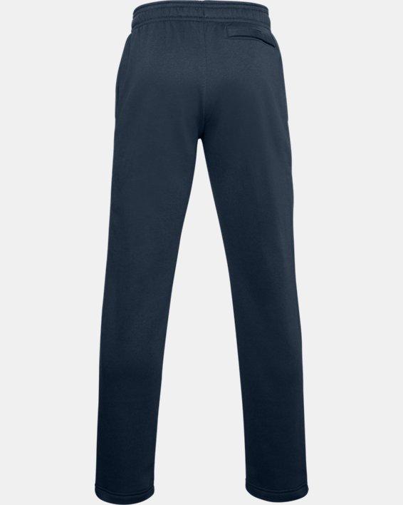 Men's UA Rival Fleece Pants, Navy, pdpMainDesktop image number 5
