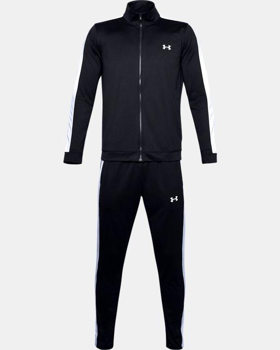 Men's UA EMEA Track Suit, Black, pdpMainDesktop image number 4
