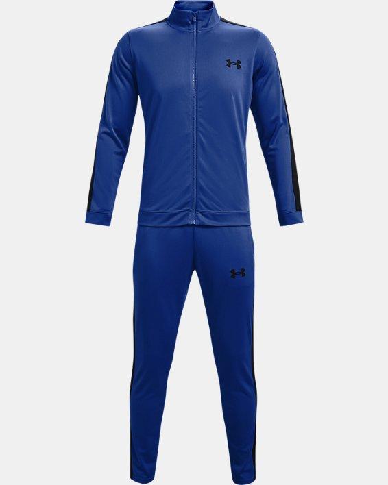 Men's UA Knit Track Suit, Blue, pdpMainDesktop image number 4