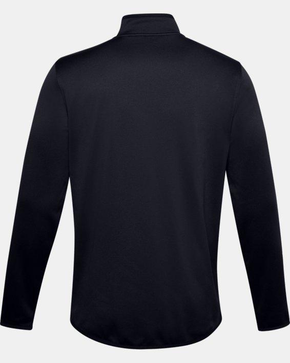 Men's Armour Fleece® ½ Zip, Black, pdpMainDesktop image number 6