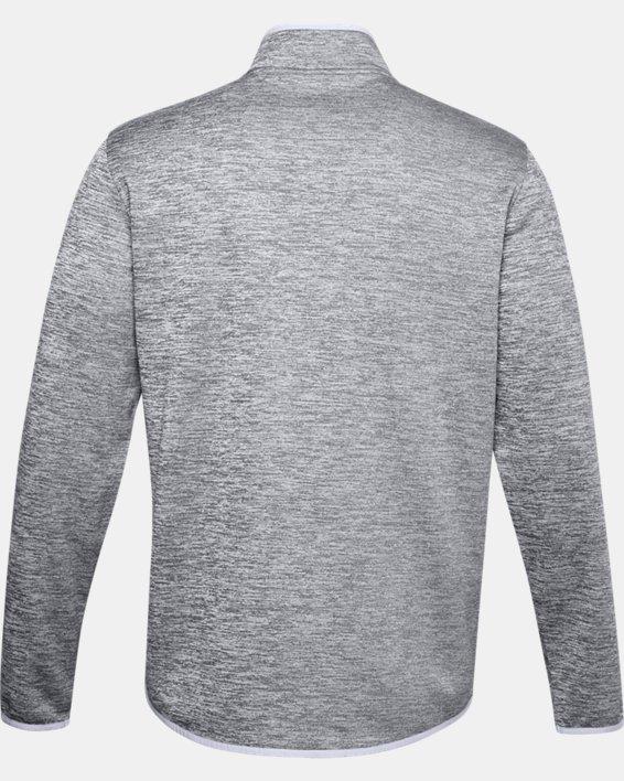 Men's Armour Fleece® ½ Zip, Gray, pdpMainDesktop image number 4