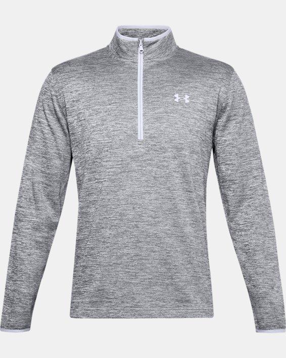 Men's Armour Fleece® ½ Zip, Gray, pdpMainDesktop image number 3