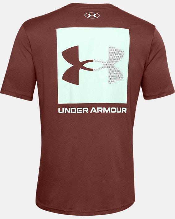 Men's UA Box Logo Short Sleeve, Red, pdpMainDesktop image number 5