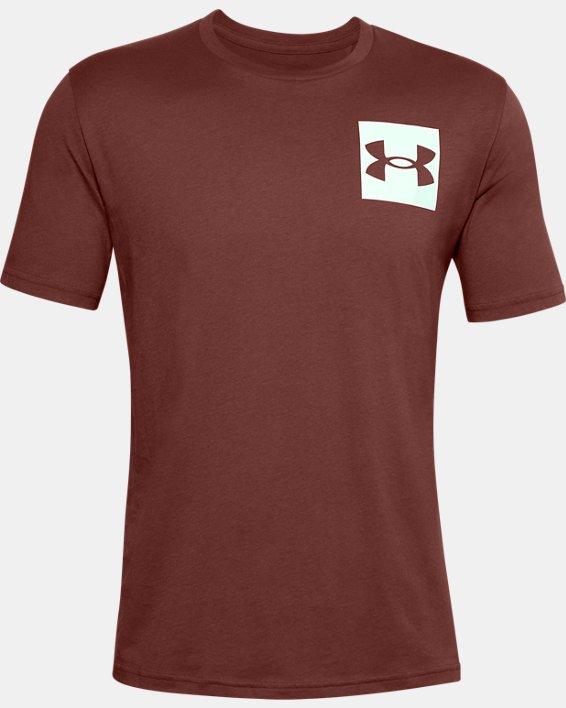 Men's UA Box Logo Short Sleeve, Red, pdpMainDesktop image number 4
