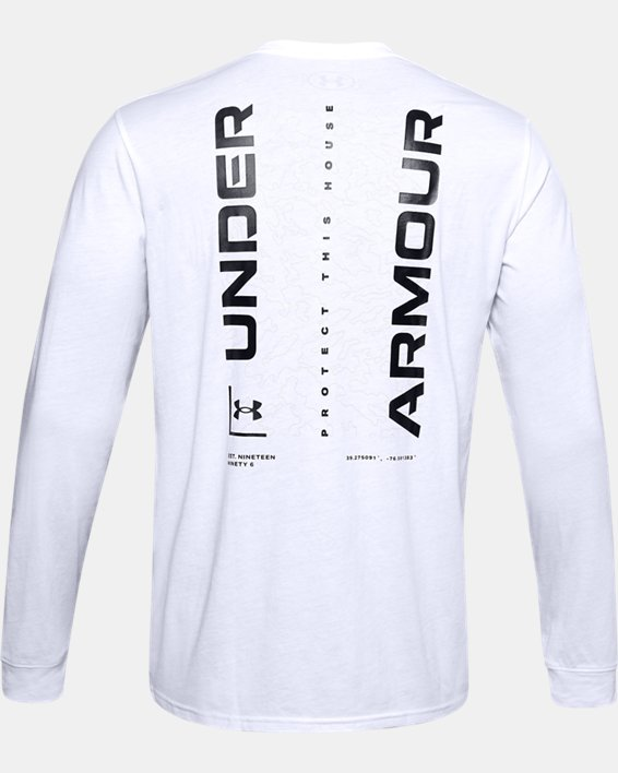 Men's UA 1996 Long Sleeve, White, pdpMainDesktop image number 5