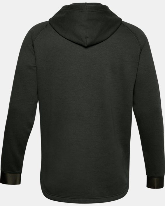 Men's Project Rock Charged Cotton® Hoodie, Green, pdpMainDesktop image number 5