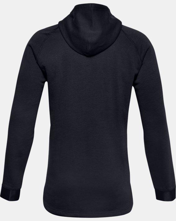 언더아머 프로젝트 락 맨 후드 집업 Under Armour Mens Project Rock Charged Cotton Fleece Full Zip,Black / Black - 001
