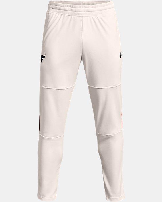 Pantalon de survêtement Project Rock Knit pour homme, White, pdpMainDesktop image number 4