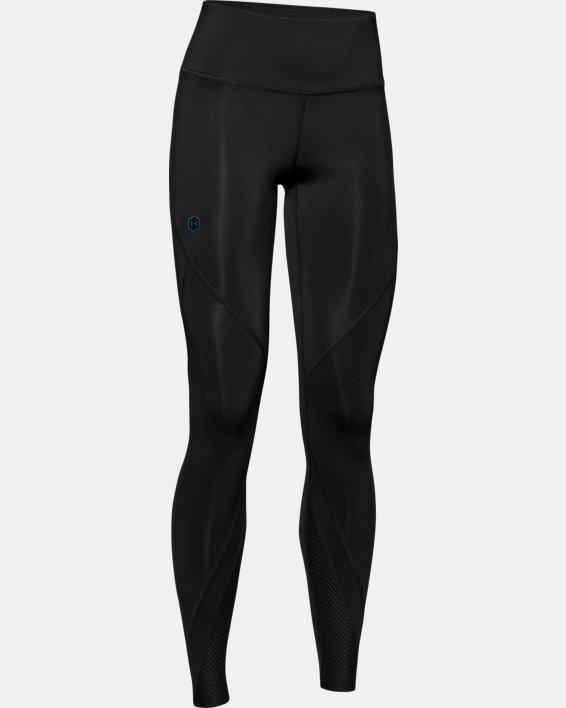 Women's UA RUSH™ Leggings, Black, pdpMainDesktop image number 4