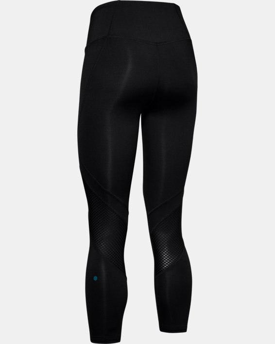Women's UA RUSH™ Crop, Black, pdpMainDesktop image number 5