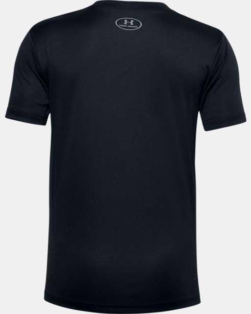 Boys' UA Tech™ Lockup Stripe Short Sleeve