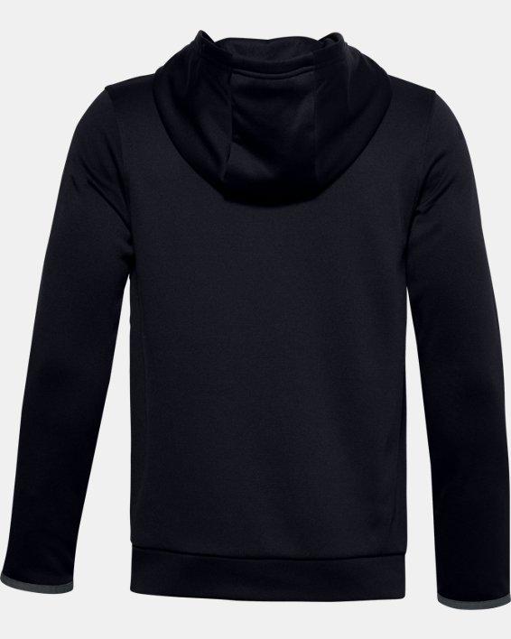 Felpa con cappuccio Armour Fleece® Big Logo da ragazzo, Black, pdpMainDesktop image number 1