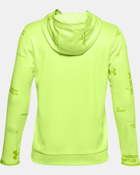 Sweat à capuche Armour Fleece® Branded pour garçon, Green, pdpMainDesktop image number 1