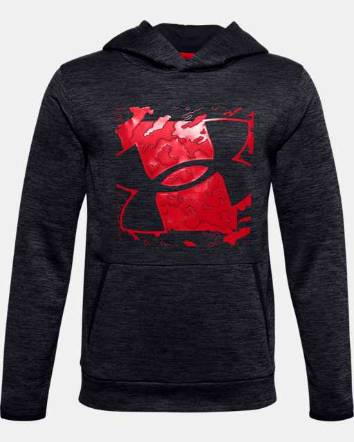 Boys' Armour Fleece® Graphic Logo Hoodie