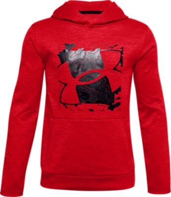 Boys' Armour Fleece® Graphic Logo Hoodie | Under Armour