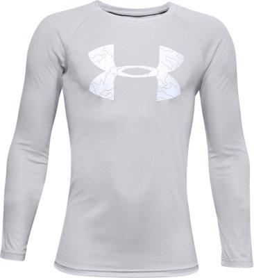 Boys' UA Tech™ Logo Fill Long Sleeve | Under Armour