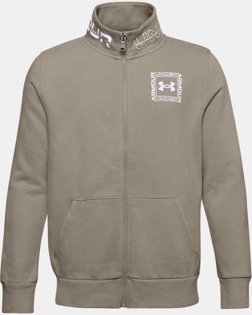 Boys' UA Rival Fleece Full Zip Jacket