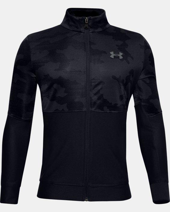 Boys' UA Prototype Jacket, Black, pdpMainDesktop image number 0