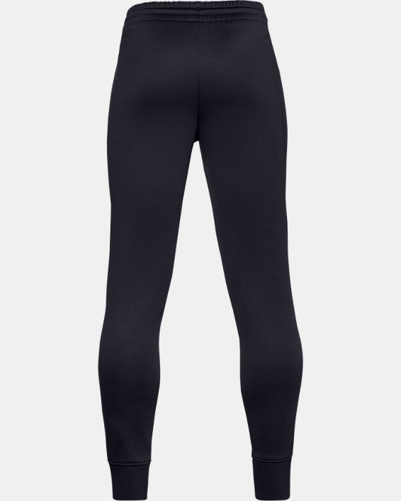 Jogger Armour Fleece® da ragazzo, Black, pdpMainDesktop image number 1