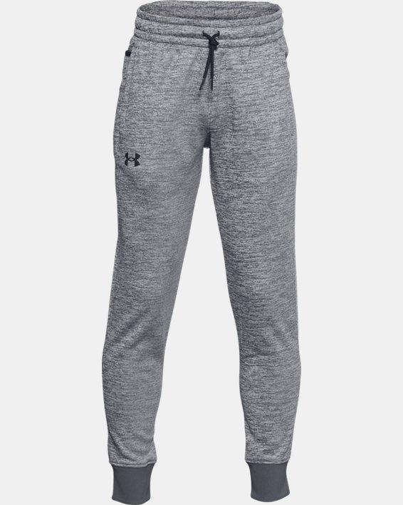 Boys' Armour Fleece® Joggers, Gray, pdpMainDesktop image number 0