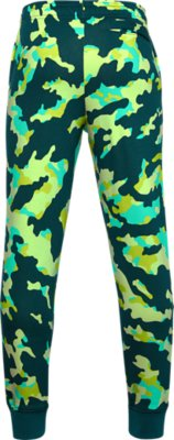 Boys/' Under Armour Rival Logo Fleece Joggers.YXLarge.Mod Gray Light Heather