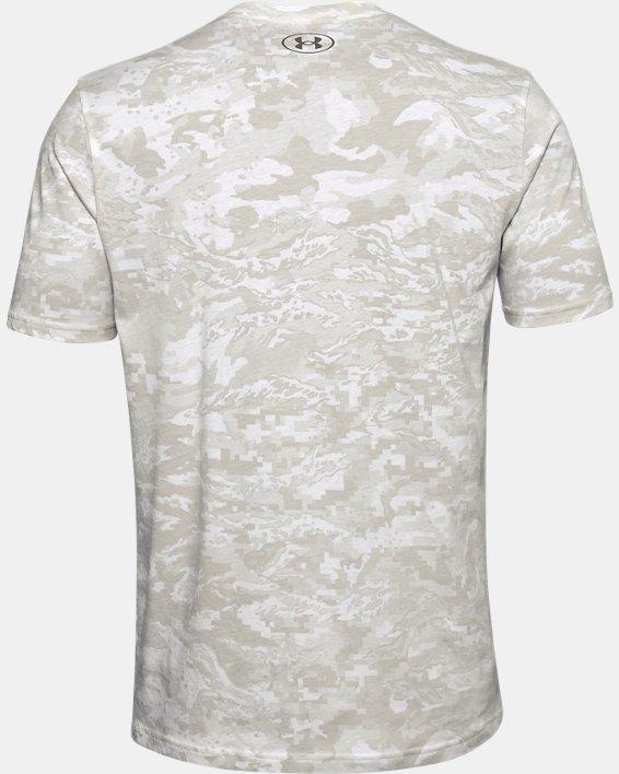 Men's UA ABC Camo Short Sleeve, White, pdpMainDesktop image number 5