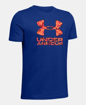 82f9623806 Boys' Blue Kids (Size 8+) Short Sleeve Shirts | Under Armour US