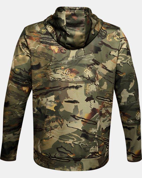 Men's Armour Fleece® Camo Hoodie, Camo, pdpMainDesktop image number 4