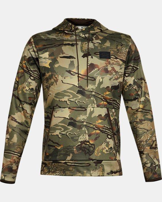 Men's Armour Fleece® Camo Hoodie, Camo, pdpMainDesktop image number 3