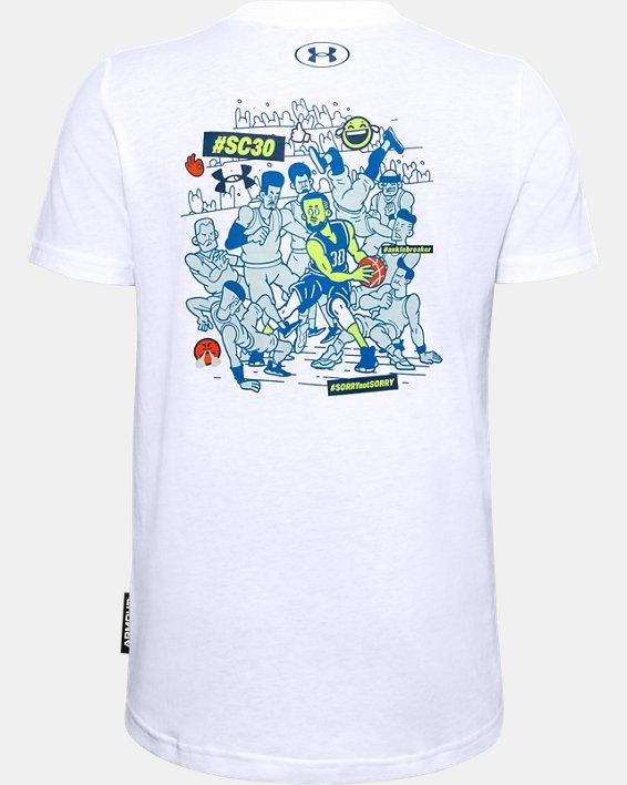 Boys' SC30™ Selfie Graphic T-Shirt, White, pdpMainDesktop image number 1