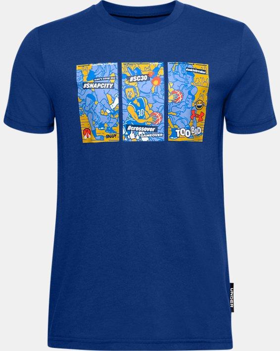Boys' SC30™ Selfie Graphic T-Shirt, Blue, pdpMainDesktop image number 0