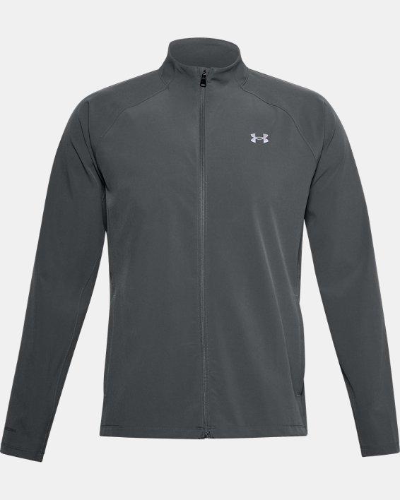 Men's UA Storm Launch 3.0 Jacket, Gray, pdpMainDesktop image number 4