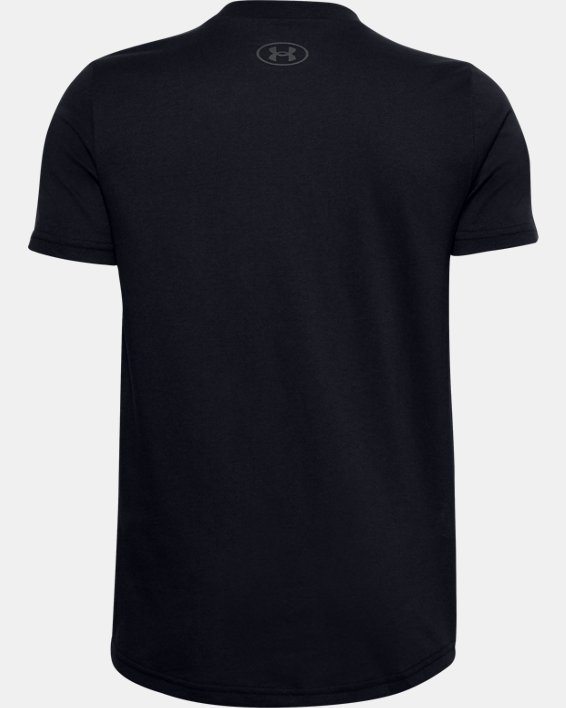 Boys' UA S5 T-Shirt, Black, pdpMainDesktop image number 1