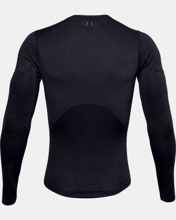 T-shirt à manches longues UA RUSH™ HeatGear® 2.0 Compression pour homme, Black, pdpMainDesktop image number 6